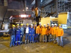 SUCCESSFUL INSTALLATION AT GERDAU DIACO IN COLOMBIA